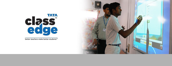 Smart-Classroom Experience with Tata Class Edge
