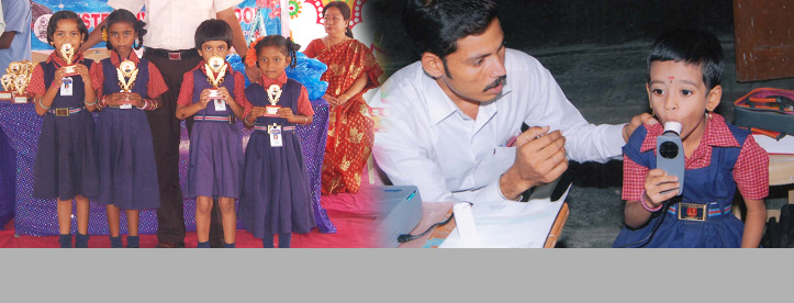 The School conducts regular Health and Medical Camps