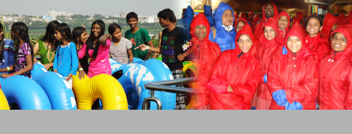 Summer Recreation at Jalavihar, Hyderabad